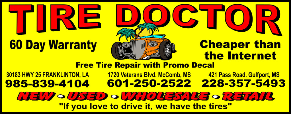 tire doctor decal